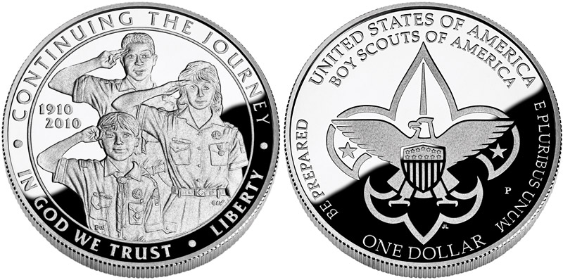 The 2010 Boy Scouts of America Centennial Commemorative Coin