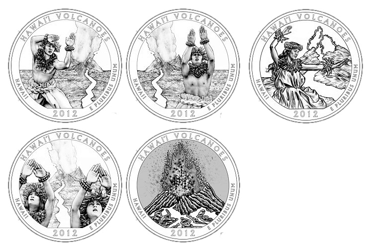 2012 America the Beautiful Quarter Design Candidates